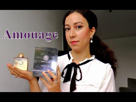 Ароматы Amouage - Honour, Ubar, Memoir