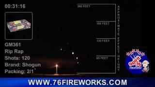 GM361 - Rip Rap www.76fireworks.com