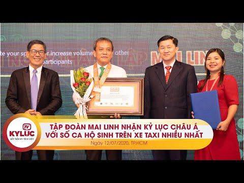 Kyluc.tv| Tập đoàn Mai Linh thiết lập kỷ lục Châu Á với 190 ca hộ sinh kỳ diệu trên xe taxi