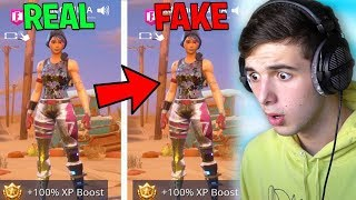 This Kid STOLE my Fans Account and tried to win v bucks! (Fortnite Battle Royale)