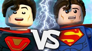Ultraman VS Superman EPIC BATTLE | LEGO DC Super Villains
