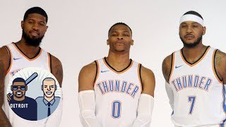 Where do Thunder rank in Western Conference with Carmelo Anthony? | Jalen & Jacoby | ESPN