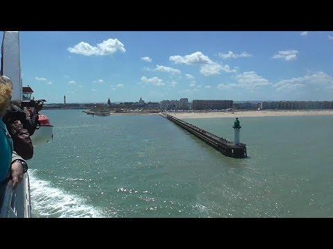 Dover to Calais on P&O Pride of Burgundy