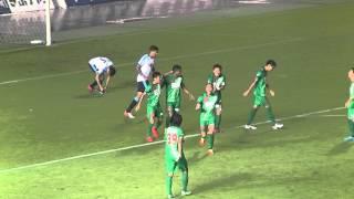 2015.07.22 第25節 FC岐阜対ジュビロ磐田 ヘニキ選手の先制ゴール!(OG)