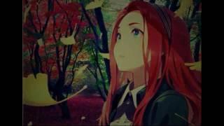 Девушки с красными волосами аниме.