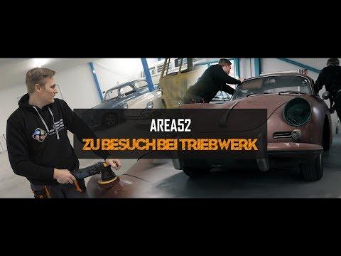 Area52TV - Zu Besuch bei Triebwerk Schwelm | Wir bearbeiten einen heruntergekommenen Porsche 356