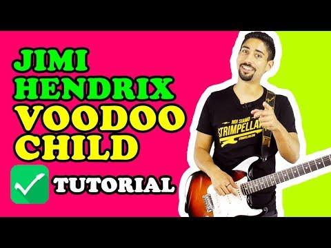 LEZIONI DI 🎸 CHITARRA: VOODOO CHILD, JIMI HENDRIX (tutorial e tab)