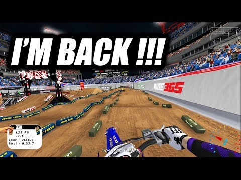"I'M BACK!!! MX Simulator - Pro RF 450 Main Event - ""2019 Supercross Nashville"""