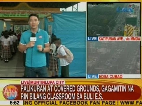 UB: Palikuran at covered grounds, gagamitin na rin bilang classroom sa Buli ES sa Muntinlupa City