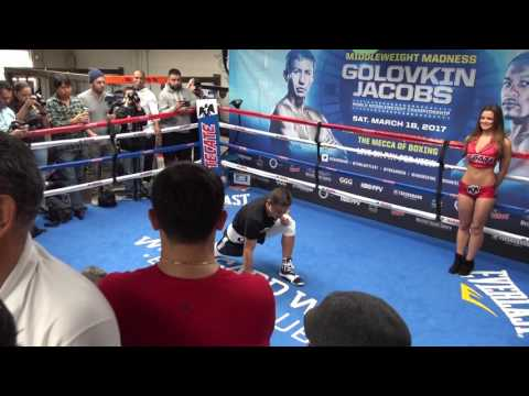 Someone Going To Get KOd GGG vs Jacobs - esnews boxing
