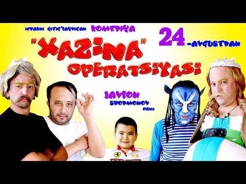 Xazina operatsiyasi (o'zbek film)   Хазина операцияси (узбекфильм) #UydaQoling