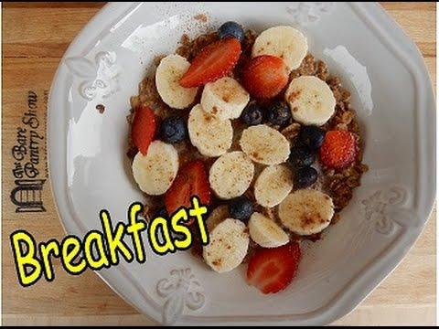 Daniel Fast | Breakfast Recipes| Video #2