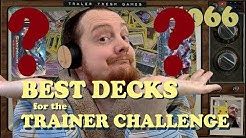 Which theme decks are the BEST for the Trainer Challenge - Pokemon TCG Online 066