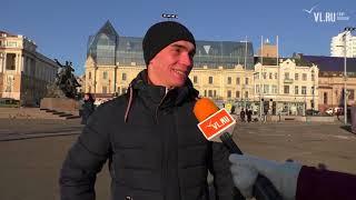 VL.ru - Что горожане думают о новой главной елке Владивостока