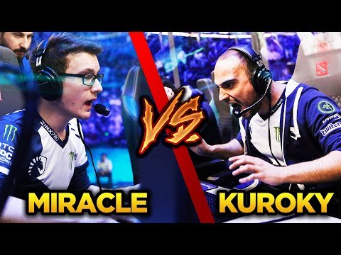 EPIC Team Liquid Battle - Miracle- Monkey King vs KuroKy- Viper - Dota 2 Gameplay thumbnail