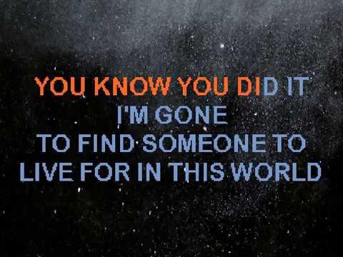Kelly Clarkson - Gone (Karaoke)