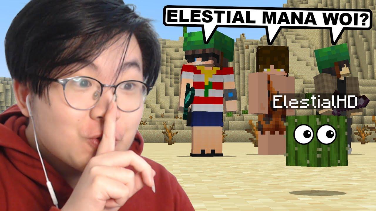 Gw Main Petak Umpet, Tapi Gw Bisa  Menyamar Jadi Benda di Minecraft