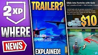Fortnite News | Season 7 Trailer Fake, Teasers Tomorrow, Xbox V-Bucks Offer, Double XP & More!