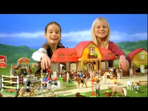 Playmobil le haras fran ais youtube - Playmobil haras ...