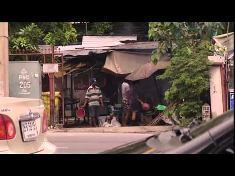 360° Bangkok, insectes frits à toute heure