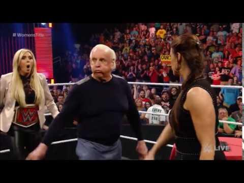 Stephanie McMahon Slaps Ric Flair thumbnail
