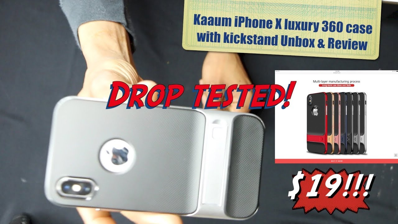 5deee531b4f1 kaaum luxury 360 protective case with kick stand- HERVEs WORLD- episode 155