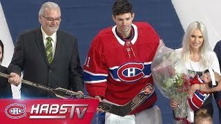 Carey Price honored with gold stick for 315 wins