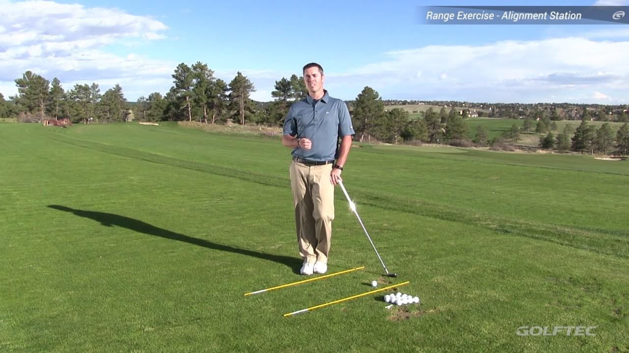 Using Golf Alignment Sticks To Aim Properly Youtube