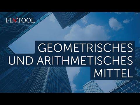 geometrisches mittel formel