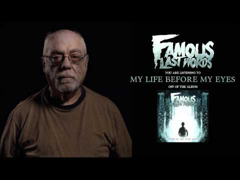 Клип Famous Last Words - My Life Before My Eyes