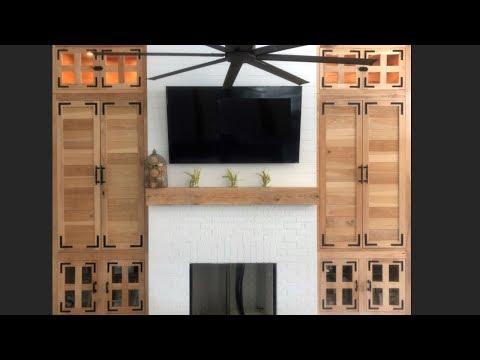 DIY Living Room Built In Wall Units [Digital Project Plans]