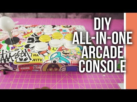 How to make an Arcade Console with Raspberry Pi 3