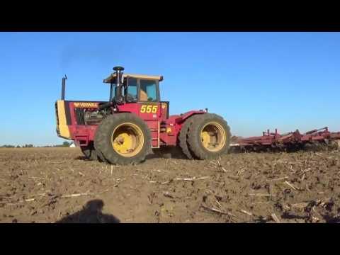 Versatile 555 Tractor working ground in Darke County Ohio