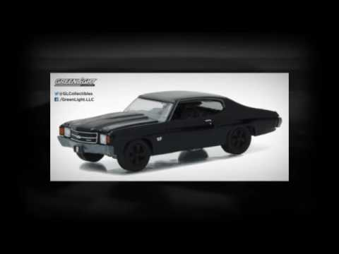 Chevrolet 2017 Camaro Convertible Black Bandit 1//64 by Greenlight 27880 F