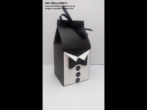 Fathers Day Classy Tuxedo Gift Box