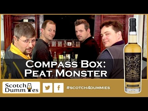 Compass Box: Peat Monster Blended Scotch Whisky Review #95