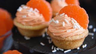 Orange Creamsicle Cookie Cups