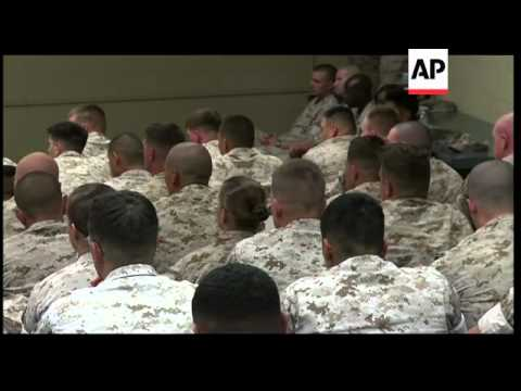 US Marines Get Trained On Accepting Gay Recruits