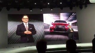 lexus lf fc concept hints of the future of the ls sedan design