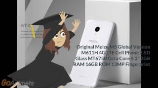 Meizu M5 Global Version M611H 4G LTE  телефон с aliexpress смартфон