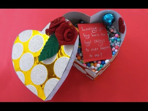How to Make Heart Boxes | Personalized Gifts Idea for Her/Him | Chocolate Box