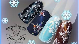 ❄3 новогодних дизайна ногтей❄Красивые кошки от Patrisa Nail❄(В этом видео я вам покажу 3 новогодних дизайна ногтей. Так же покажу как выполнить #дизайн