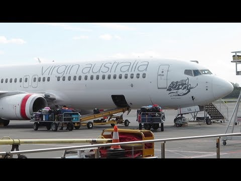 Virgin Australia Flight From Gold Coast  To Auckland  2018