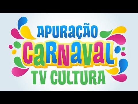 Apuração Das Escolas De Samba Do Carnaval TV Cultura!