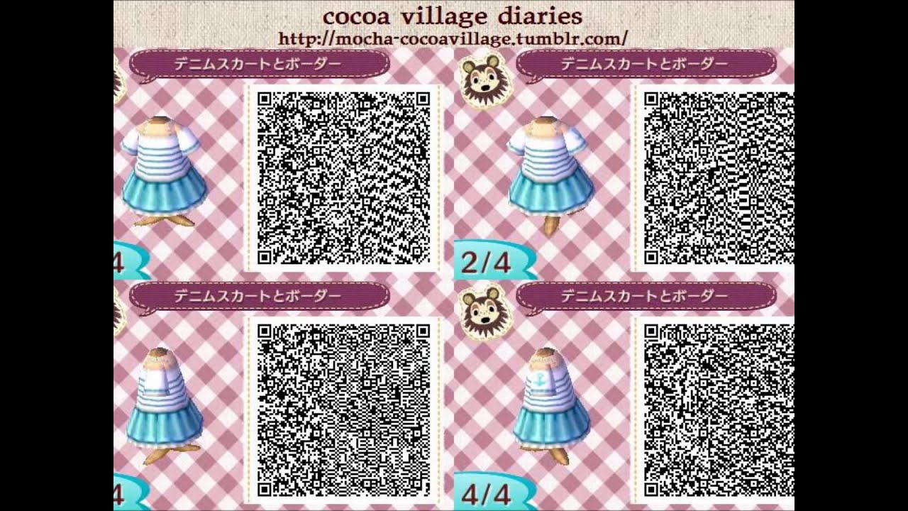 Acnl Cute Wallpaper Qr Codes Acnl Qr Codes Part 6 Youtube