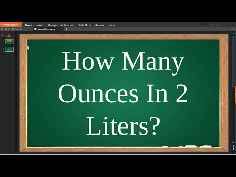 How Many Ounces In Liters