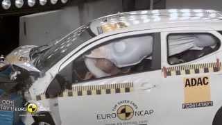 Euro NCAP Crash Test of Toyota Aygo 2014