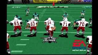 Madden 2000 PS1   Season 1 game 1