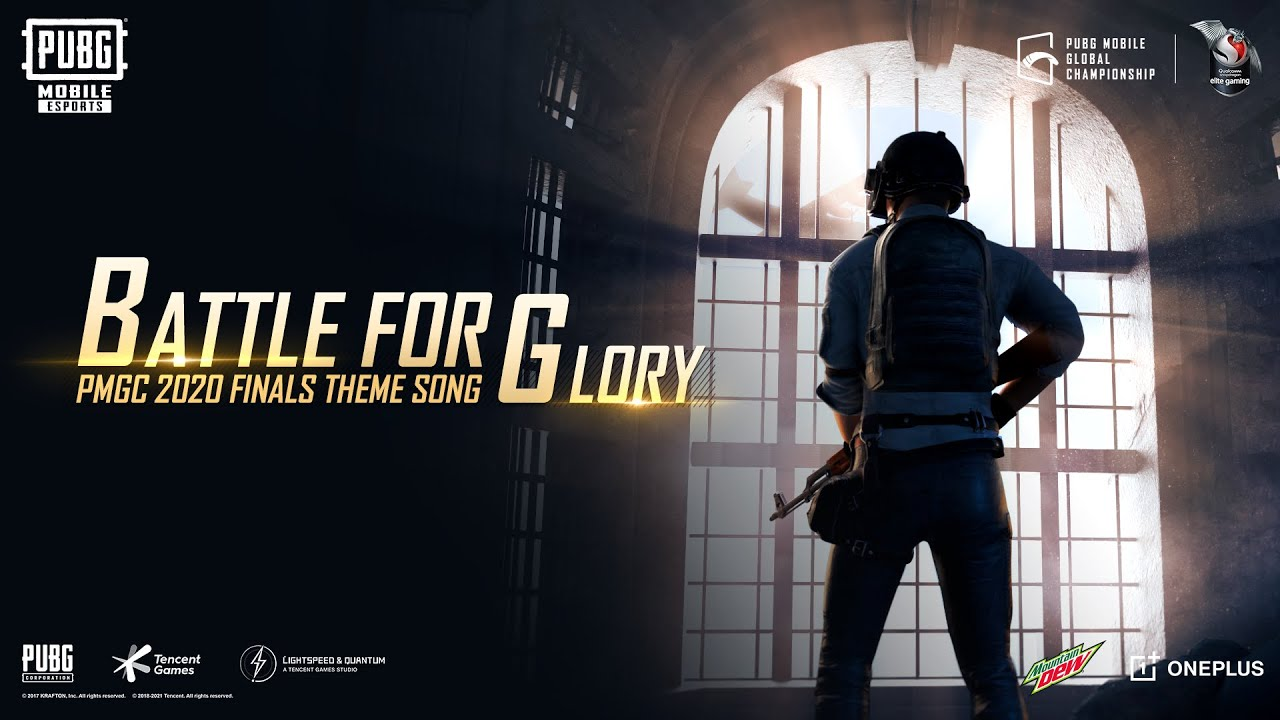 """PUBG MOBILE Global Championship Theme Song for """"Battle of Glory""""!"""