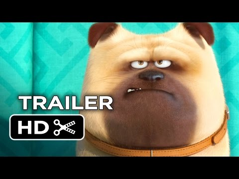 The Secret Life of Pets Official Teaser Trailer #1 (2016) - Jenny Slate, Kevin Hart Movie HD